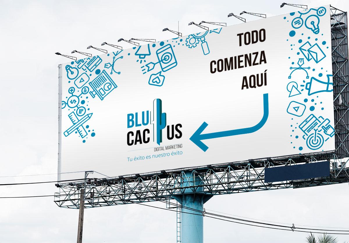 BluCactus anuncio exterior con un Panorámico Espectacular