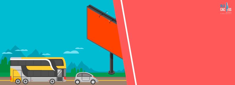 BluCactus Anuncio en la carretera
