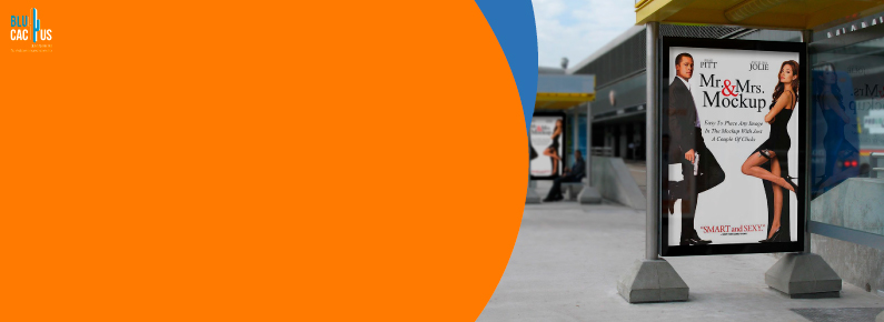 BluCactus Qué es la publicidad exterior - anuncio de mupis
