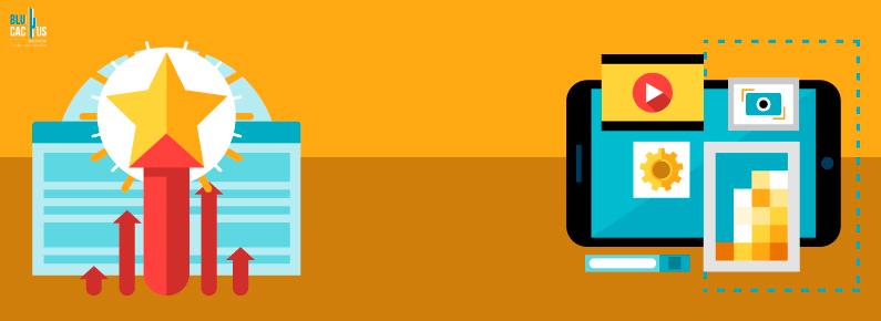BluCactus - Cuetes a la izquierda y una pantalla a la derecha