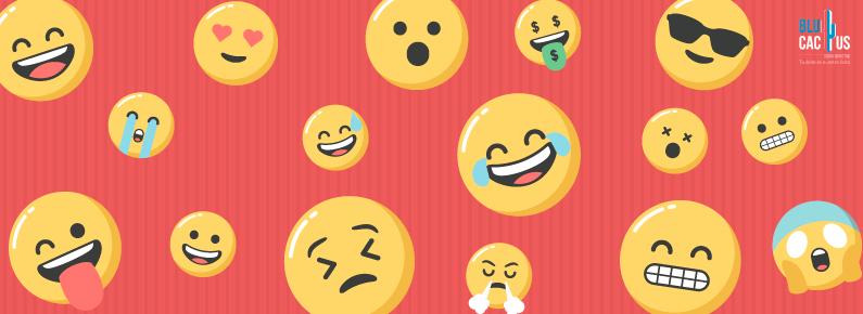 BluCactus Usa algunos emoticonos en instagram y redes sociales