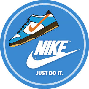 blucactus Just Do It Nike slogan