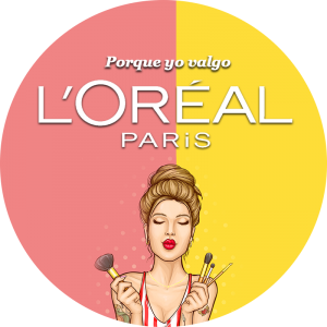 BluCactus slogan y logo de L'Oréal Paris