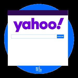 BluCactus La pantalla principal de Yahoo