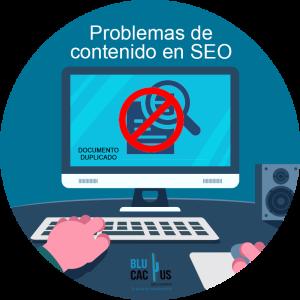BluCactus Problemas de contenido en SEO
