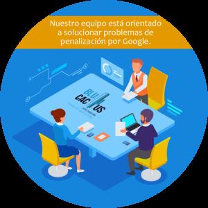 BluCactus equipo orientado soluciones de paginas penalizadas por google